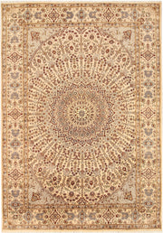 Blanched Almond Gombud 5' 6 x 8' - No. 68749 - ALRUG Rug Store