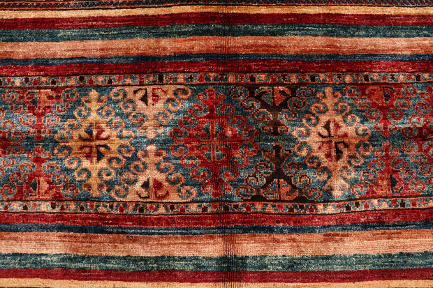 Multi Colored Kazak 4' 11 x 6' 9 - No. 68797 - ALRUG Rug Store