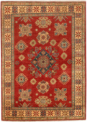 Indian Red Kazak 4' 11 x 6' 11 - No. 68870 - ALRUG Rug Store