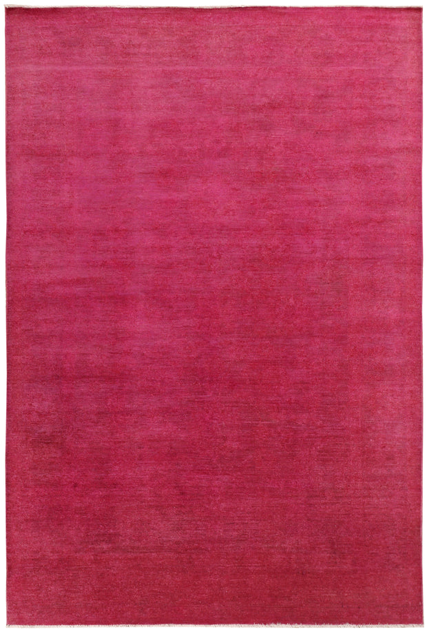 Pale Violet Red Overdyed 6' 5 x 9' 6 - No. 69628 - ALRUG Rug Store