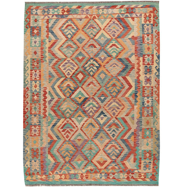 Vegetable Kilim 6' x 8' (ft) - No. AL48690 - ALRUG Rug Store