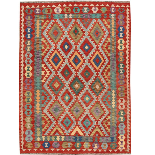 Vegetable Kilim 6' 1 x 7' 6 (ft) - No. AL88893 - ALRUG Rug Store
