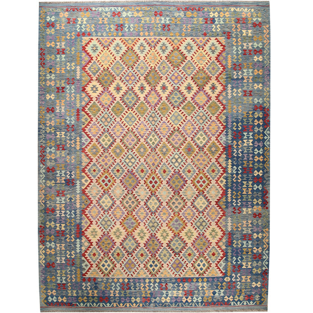 Vegetable Kilim 10' x 13' 5 (ft) - No. AL90788 - ALRUG Rug Store