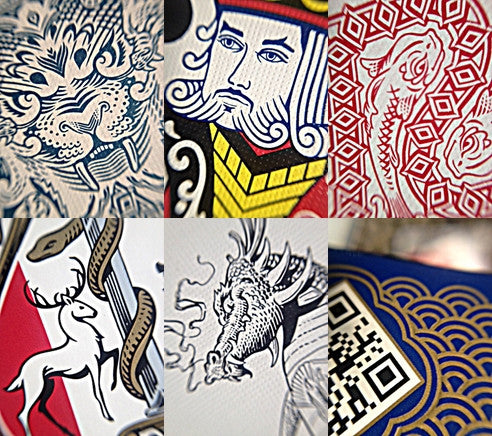 What makes a deck of cards beautiful?