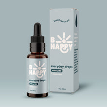 Load image into Gallery viewer, B Happy Everyday Peppermint Drops - 600mg Hemp-Derived CBD
