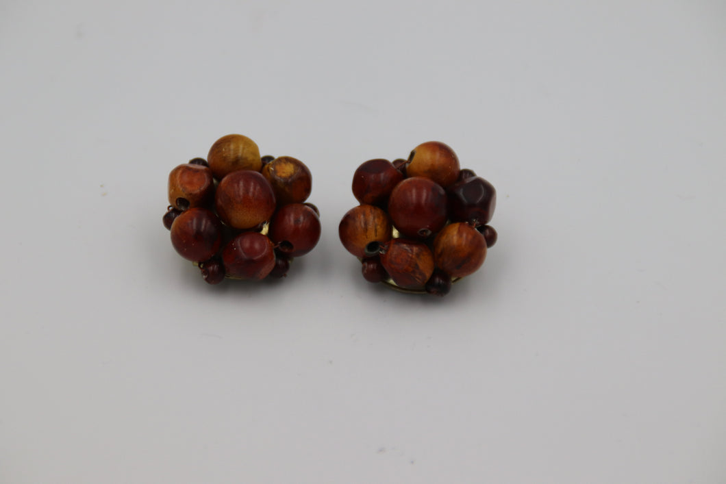 Brown Bead Cluster
