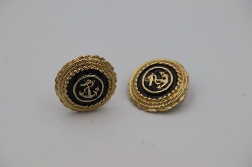 Black & Gold Anchors