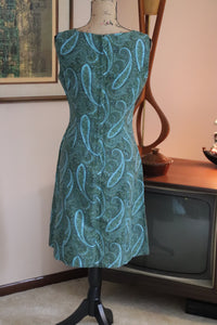 Paisley 60's Shift Dress