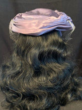 Load image into Gallery viewer, Purple Satin Hat