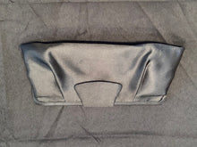 Load image into Gallery viewer, Black Satin Clutch