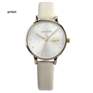LIMITED EDITION LEATHER LACOSTE WATCH (FREE SHIPPING & CASH ON DELIVERY)