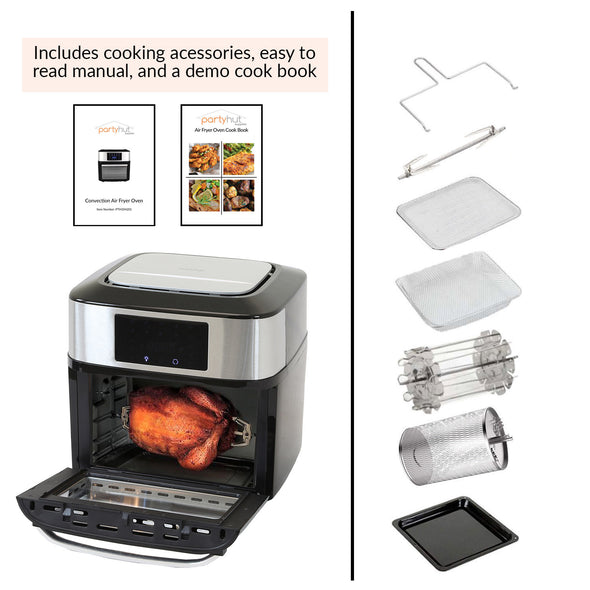 PartyHut 10 in 1 | 18 Liter Convection Air Fryer Oven Dehydrator (CL_PTH504201) - Alt Image 5