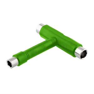[product_tag] , All In One Skate TOOL Skateboards Longboard T Type Green - Crosslinks