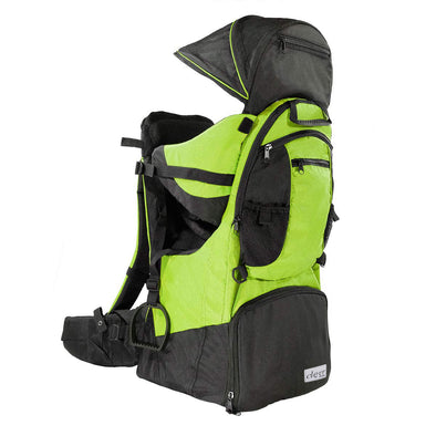 ClevrPlus Deluxe Lightweight Baby Backpack Child Carrier, Green (CL_CRS600204) - Main Image
