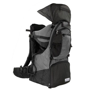 ClevrPlus Deluxe Lightweight Baby Backpack Child Carrier, Grey (CL_CRS600223) - Main Image