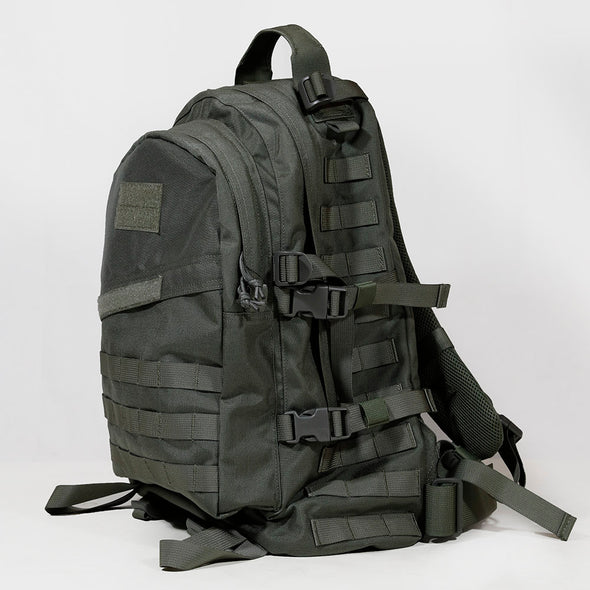 Qwest 42L Outdoor Tactical Military Style Gear Pack Backpack + Bonus 10 L Bag, Drab Green (CL_CRS806006) - Alt Image 8