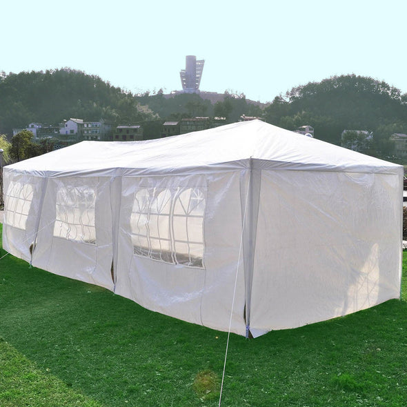 Clevr 10'x30' Canopy Party Wedding Outdoor Tent Gazebo Pavilion (CL_CRS201007) - Alt Image 4