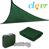 Clevr 12'x12'x12' Triangle Green Outdoor Sun Shade Sail Canopy (CL_CRS201111) - Main Image
