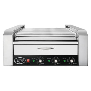 [product_tag] , Clevr Commercial 30 Hot Dog 11 Roller Grill Cooker Warmer Hotdog Machine - Crosslinks