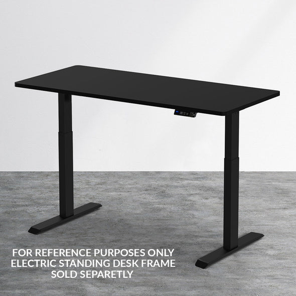 "AdvanceUp Black 47"" Dual Motor Electric Stand Up Office Desk with USB Port, Frame only (CL_CRS202301) - Alt Image 1"