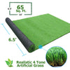 [product_tag] , Clevr Artificial Synthetic Turf Grass Lawn for Outdoor Landscape, 6.5' X 10' - Crosslinks