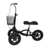 Clevr All Terrain Foldable Medical Steerable Knee Walker Scooter Roller Crutch Alternative, Black (CL_CRS401132) - Alt Image 2