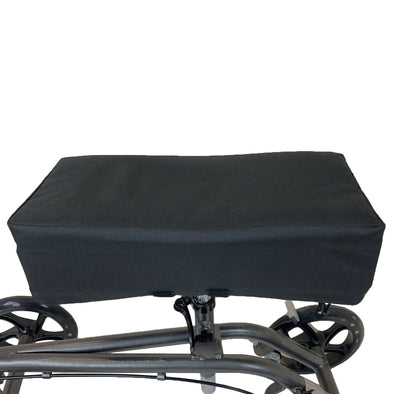 AllCure Knee Walker Memory Foam Pad Seat Cover, Black (CL_CRS401141) - Main Image