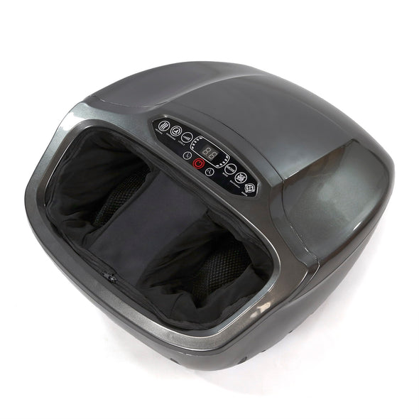 [product_tag] , Clevr Electric Shiatsu Kneading Rolling Foot Massager w/ Heating, Grey - Crosslinks