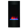 "Clevr 32"" Vertical Adjustable Wall Mounted Electric Fireplace Heater with Backlight, 750-1500W (CL_CRS501932) - Alt Image 1"