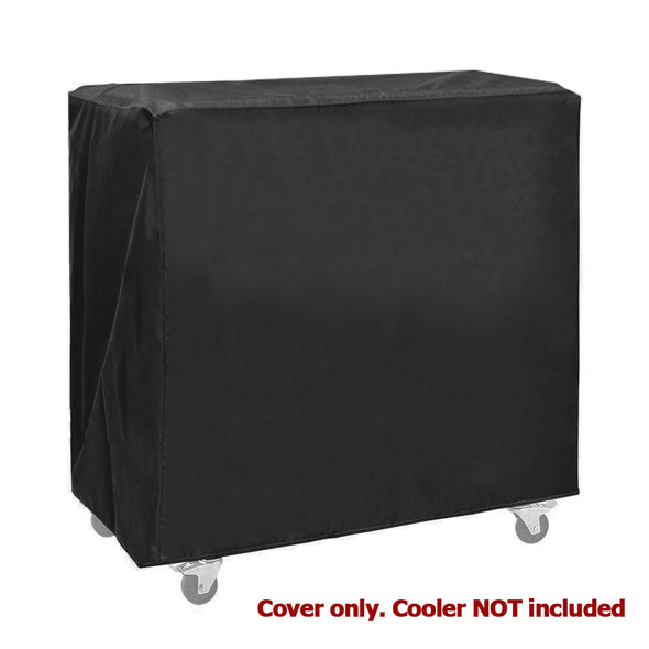 Clevr Cooler Cart Cover, Fits Most 80 Quart Rolling Ice Chest Black Water Resistant (CL_CRS502908) - Alt Image 1
