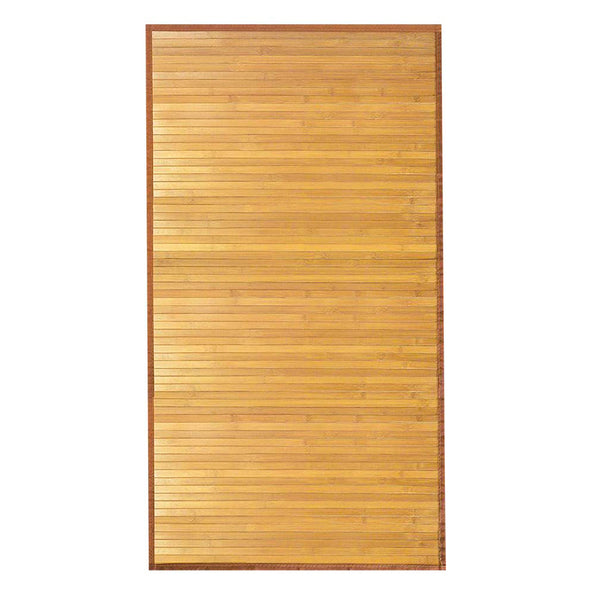 Home Aesthetics 6'X9' X-Large Natural Bamboo Floor Mat Area Rug Indoor Carpet Non Skid Backing (CL_HOM503411) - Alt Image 4