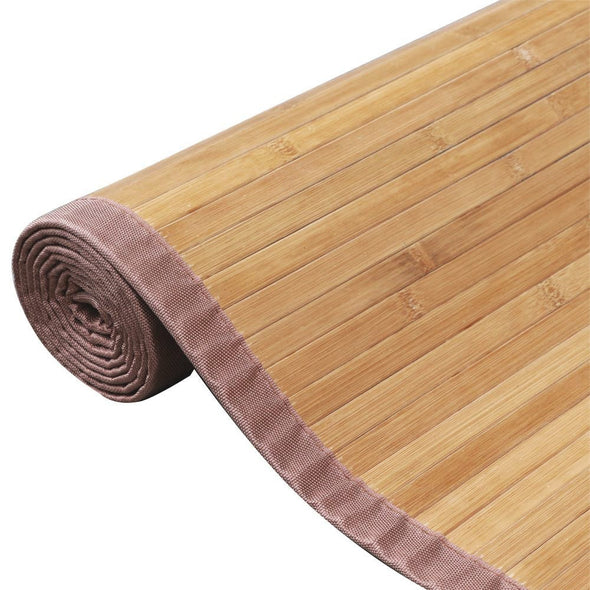 Home Aesthetics 6'X9' X-Large Natural Bamboo Floor Mat Area Rug Indoor Carpet Non Skid Backing (CL_HOM503411) - Alt Image 5
