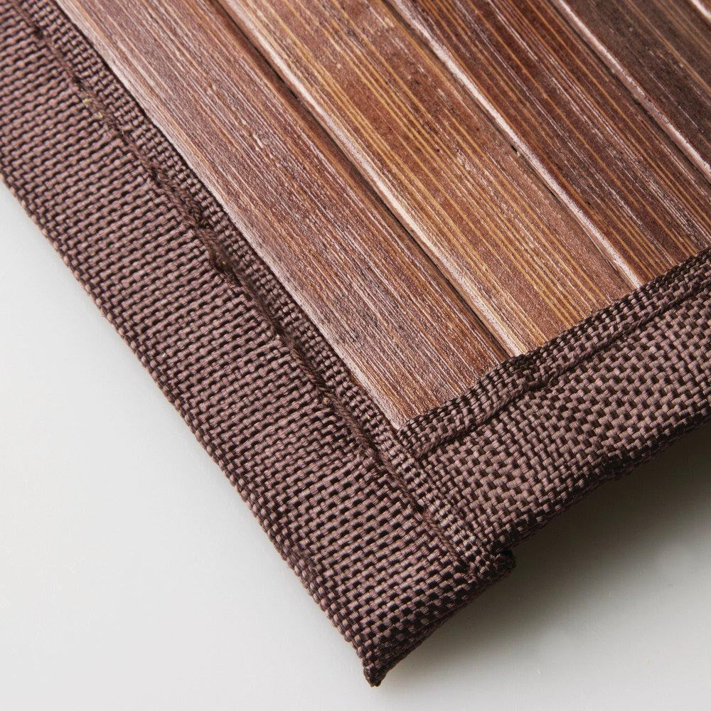 bamboo anti rug slippery shower slats square natural mat door roll up bathroom foldable