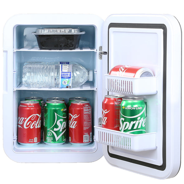 Home Aesthetics 20-Liter 22-CanMini Fridge Compact Portable Cooler Warmer with Temperature Control, Extra Large Size (CL_HOM504302) - Alt Image 2