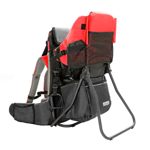ClevrPlus Hiking Child Carrier Backpack Cross Country, Red (CL_CRS600201) - Alt Image 1