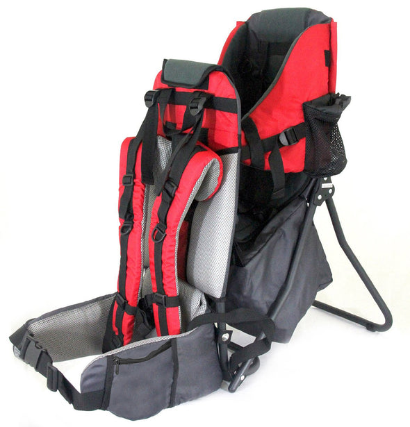 ClevrPlus Hiking Child Carrier Backpack Cross Country, Red (CL_CRS600201) - Alt Image 6