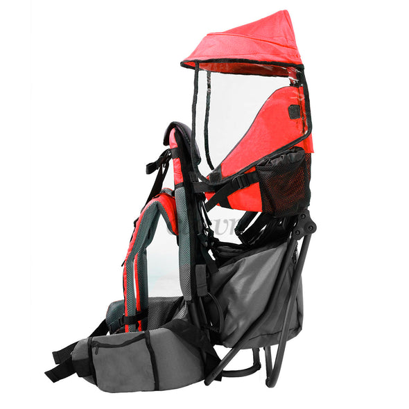 ClevrPlus Hiking Child Carrier Backpack Cross Country, Red (CL_CRS600201) - Alt Image 2