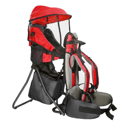 [product_tag] , ClevrPlus Hiking Child Carrier Backpack Cross Country, Red - Crosslinks