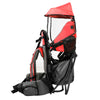 ClevrPlus Hiking Child Carrier Backpack Cross Country, Red (CL_CRS600201) - Alt Image 8