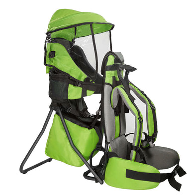 [product_tag] , ClevrPlus Hiking Child Carrier Backpack Cross Country, Green - Crosslinks