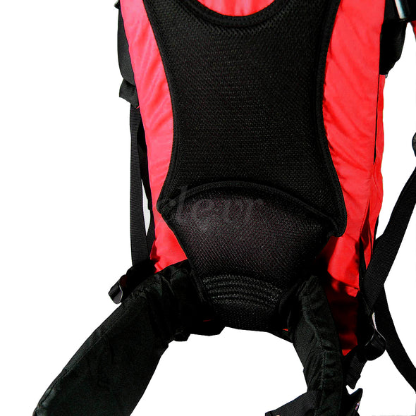 ClevrPlus Deluxe Lightweight Baby Backpack Child Carrier, Red (CL_CRS600203) - Alt Image 8