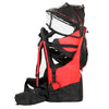ClevrPlus Deluxe Lightweight Baby Backpack Child Carrier, Red (CL_CRS600203) - Alt Image 3