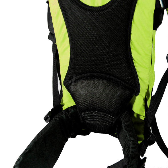 ClevrPlus Deluxe Lightweight Baby Backpack Child Carrier, Green (CL_CRS600204) - Alt Image 5