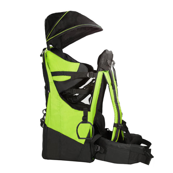 ClevrPlus Deluxe Lightweight Baby Backpack Child Carrier, Green (CL_CRS600204) - Alt Image 2