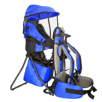 [product_tag] , ClevrPlus Hiking Child Carrier Backpack Cross Country, Blue - Crosslinks