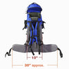 ClevrPlus Hiking Child Carrier Backpack Cross Country, Blue (CL_CRS600211) - Alt Image 7