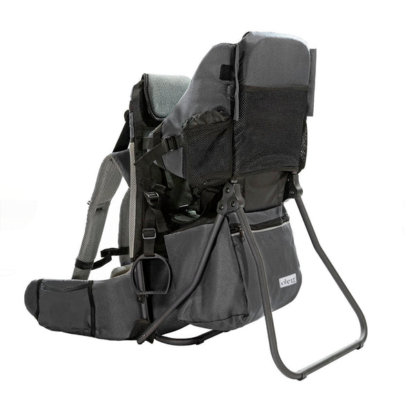 ClevrPlus Hiking Child Carrier Backpack Cross Country, Grey (CL_CRS600213) - Alt Image 1