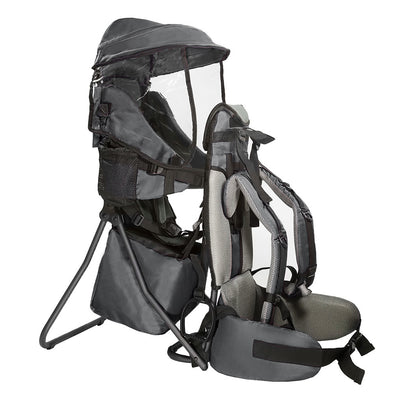 ClevrPlus Hiking Child Carrier Backpack Cross Country, Grey (CL_CRS600213) - Main Image