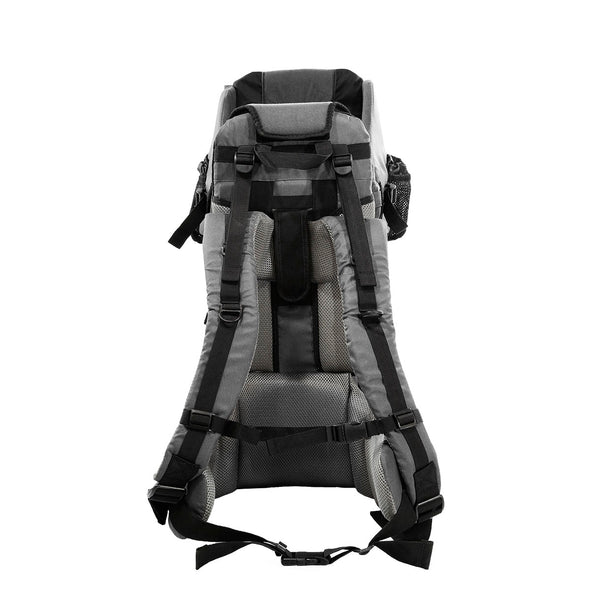 ClevrPlus Hiking Child Carrier Backpack Cross Country, Grey (CL_CRS600213) - Alt Image 4
