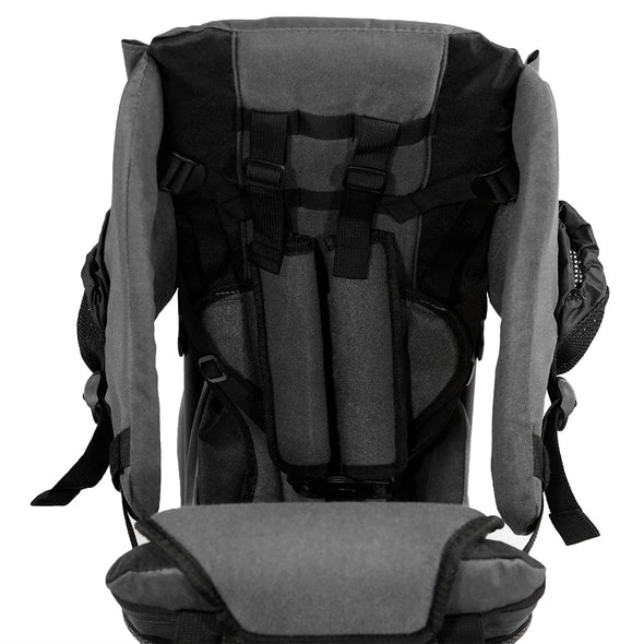 ClevrPlus Hiking Child Carrier Backpack Cross Country, Grey (CL_CRS600213) - Alt Image 8